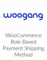 WooCommerce Role Based Payment Shipping Method