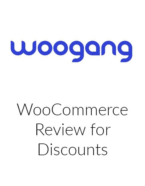WooCommerce Review for Discounts
