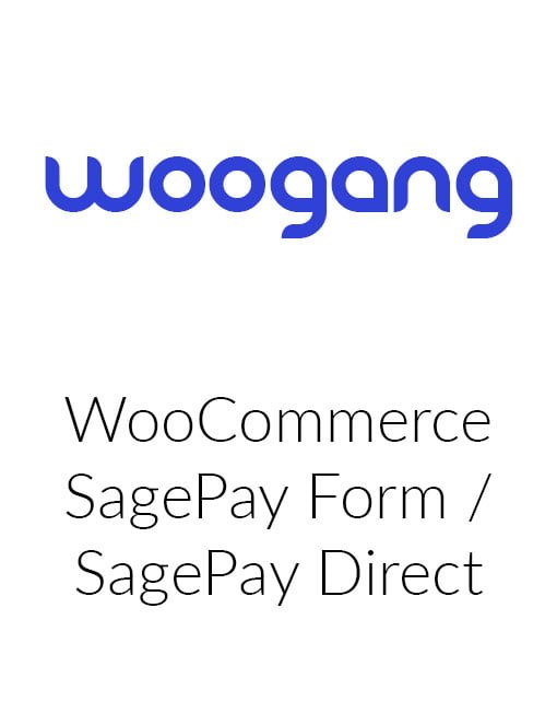 WooCommerce Sage Pay Form / Sage Pay Direct