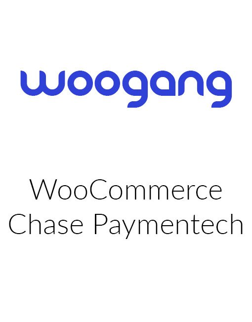 WooCommerce Chase Paymentech