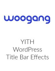 YITH WordPress Title Bar Effects
