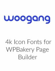 4k Icon Fonts for WPBakery Page Builder