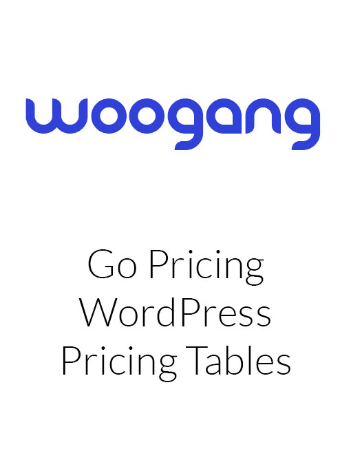 Go Pricing - WordPress Responsive Pricing Tables