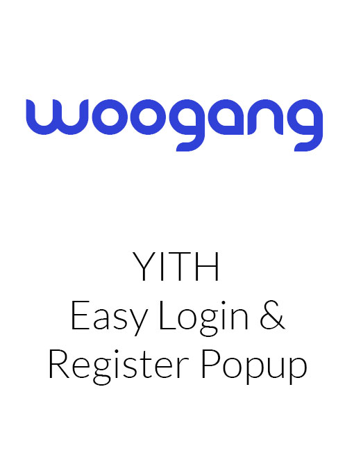 YITH Easy Login & Register Popup