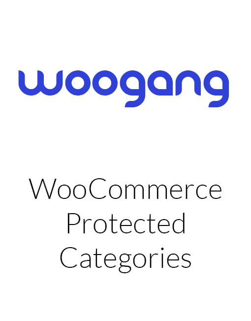 WooCommerce Protected Categories