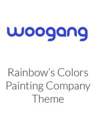 Rainbow's Colors - Painting Company WordPress Theme