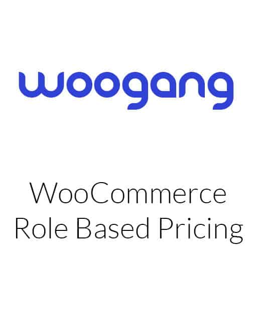 WooCommerce Role Based Pricing