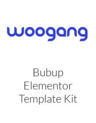 Bubup — Kids Store & Baby Shop Elementor Template Kit