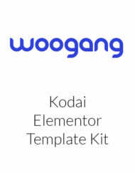 Kodai - Asian Restaurant Elementor Template Kit