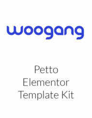 Petto - Vetenary Pet Clinic Template Kit