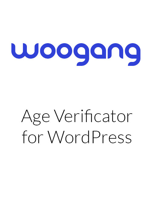 Age Verificator for WordPress