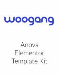Anova Elementor Template Kit