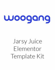 Jarsy Juice - Drink Brand Elementor Template Kit