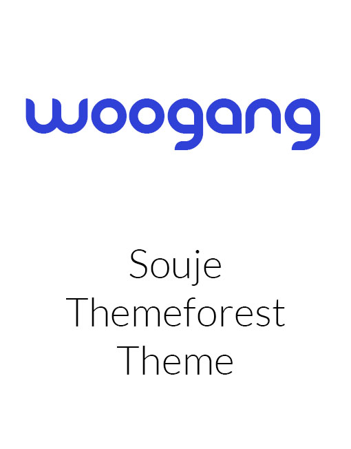 Souje - Personal WordPress Blog Theme
