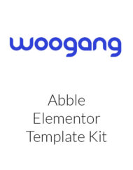 Abble - Online Learning & Education Elementor Kit