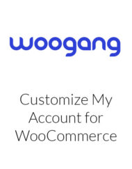 Customize My Account for WooCommerce