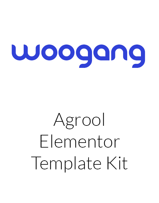 Agrool - Agriculture Farming Elementor Template Kit