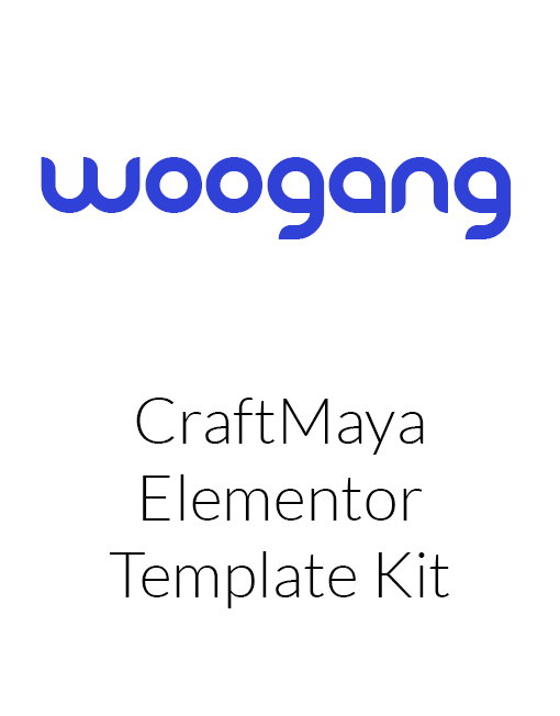 CraftMaya - IT Solutions & Services Company Elementor Template Kit